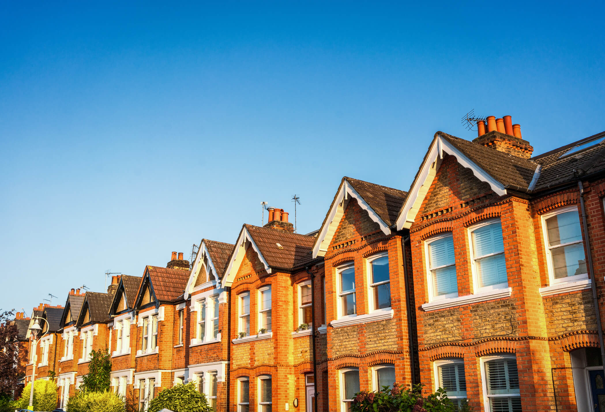 Terraced Victorian homes. Jukes Insurance Brokers can arrange insurance for properties like these.